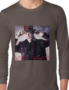 Doctor who 11th Doctor/ happy Whomas  Long Sleeve T-Shirt