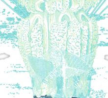 Jellyfish dirigible Sticker