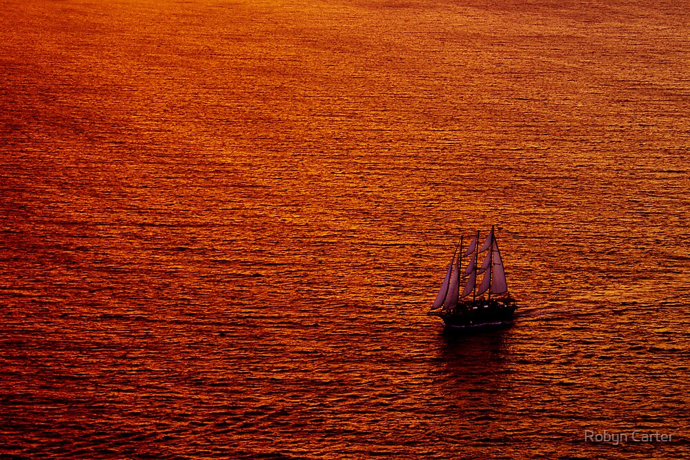 On Golden Water by Robyn Carter
