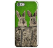 We are ready green iPhone Case/Skin
