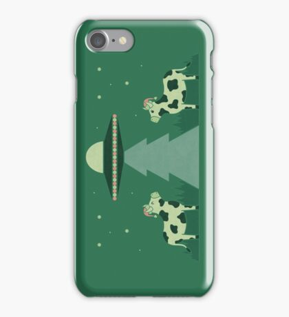 Merry Abduction iPhone Case/Skin