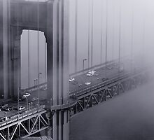 Foggy Golden Gate Bridge by Daisy Yeung