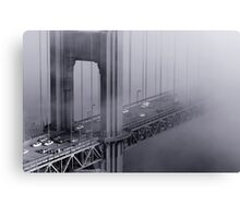 Foggy Golden Gate Bridge Canvas Print
