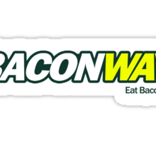 Baconway Sticker