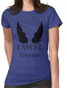 Castiel Forever Womens Fitted T-Shirt