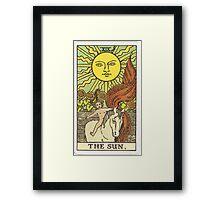 Tarot - The Sun Framed Print