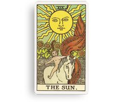 Tarot - The Sun Canvas Print