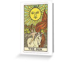 Tarot - The Sun Greeting Card
