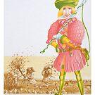 Little Tailor 4 -  Cover illust, (pen & ink, watercolour on paper) by Rory Stapleton