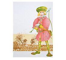 Little Tailor 4 -  Cover illust, (pen & ink, watercolour on paper) Photographic Print