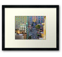 Kearny Street Framed Print