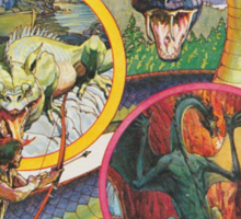 Advanced Dungeons & Dragons Cartridge Sticker