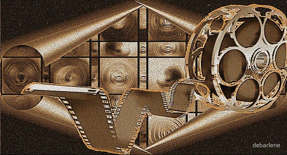 Rusty Old Reels in the Back Vaults by deborah zaragoza