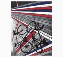 Red, White and Blue Bike by gerainthill