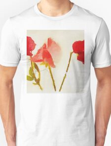 Sweet Pea Watercolour T-Shirt