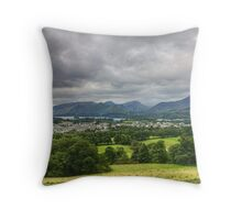 Keswick And Fells Throw Pillow