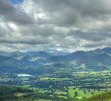 Skiddaw Views by Jamie  Green