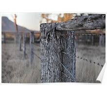 The Fence Post Poster