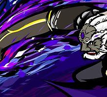 Ganondorf   Warlock Punch by ishmam