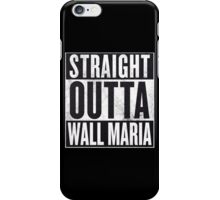 Straight Outta Wall Maria iPhone Case/Skin