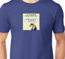 The Responsible Drinking Lawyer Unisex T-Shirt