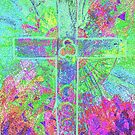 CELTIC CROSS    Vibrant colours with a soul by Shoshonan