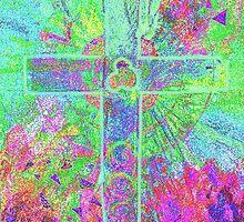 CELTIC CROSS    Vibrant colours with a soul by Shoshonan