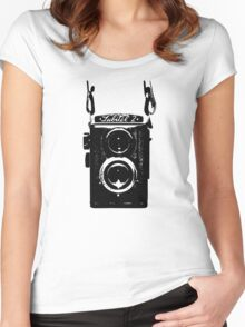 Lubitel Camera Women's Fitted Scoop T-Shirt