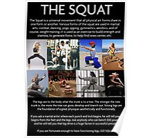 SQUAT - Universal Movement Poster
