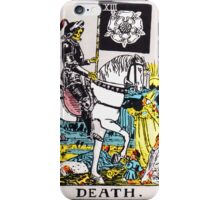 Tarot - Death iPhone Case/Skin