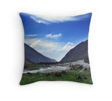 Ala Archa Valley, Kyrgyzstan Throw Pillow