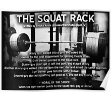The Squat Rack Poster