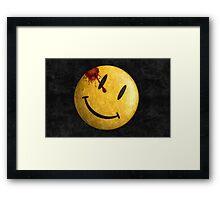 Kill the smile Framed Print