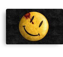 Kill the smile Canvas Print