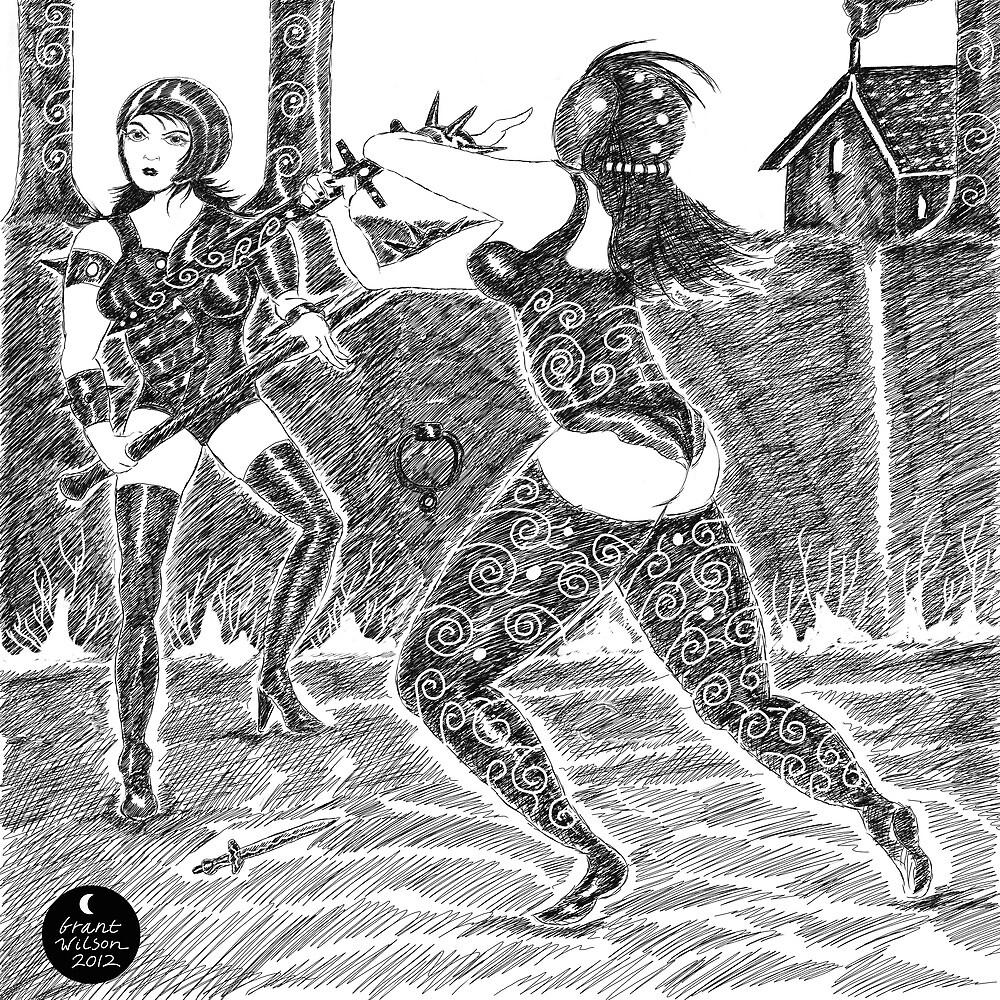 Gladiators! by Grant Wilson