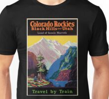 Vintage poster - Colorado Rockies Unisex T-Shirt