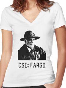 CSI - Fargo Women's Fitted V-Neck T-Shirt