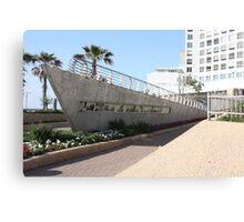 Aliyah Bet Memorial, Tel Aviv Canvas Print