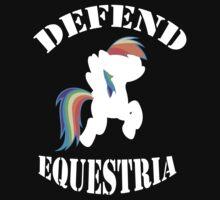 Defend Equestria - Rainbow Dash by Fluttershy808