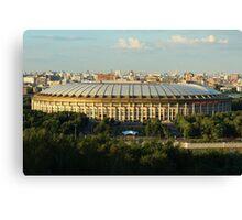 Luzhniki Stadium Canvas Print