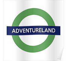 Adventureland Line Poster