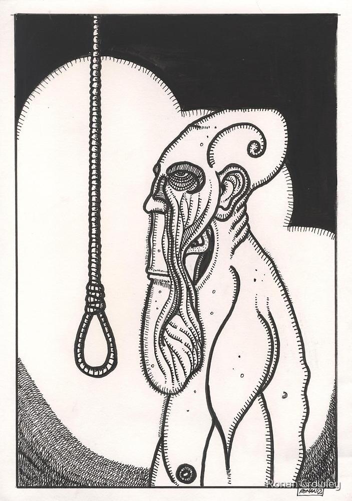 greasy soul death by Ronan Crowley