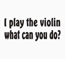 Violin Baby Tee