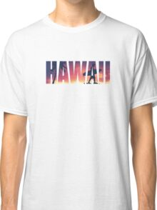 Vintage Filtered Hawaii Postcard Classic T-Shirt