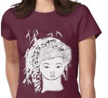 YURIS DREAM   LIGHT TEES BEST  TEE SHIRT.KIDS TEE.STICKER Womens Fitted T-Shirt