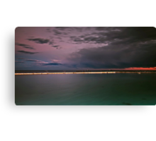 Storm Incoming Canvas Print