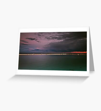 Storm Incoming Greeting Card
