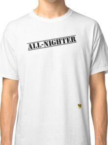 Rave Veteran - All Nighter - Black Classic T-Shirt