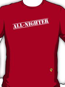 Rave Veteran - All Nighter - White T-Shirt