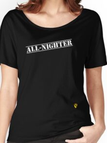 Rave Veteran - All Nighter - White Women's Relaxed Fit T-Shirt